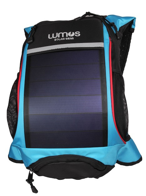 Thrillseeker Solar Hydration bag Blue front