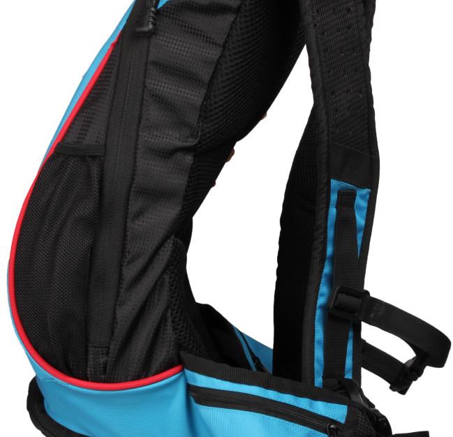 Thrillseeker Solar Hydration bag Blue side