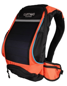 Thrillseeker Solar Hydration bag  Orange Front 45
