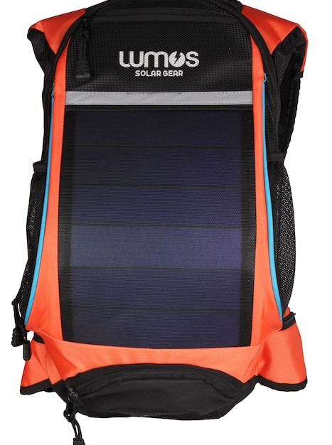 Thrillseeker Solar Hydration bag  Orange Front